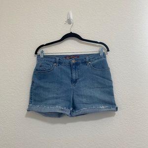Gloria Vanderbilt Amanda Denim Jean Shorts Size 8